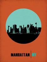 Manhattan Circle 1 Fine Art Print