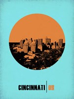 Cincinnati Circle 1 Fine Art Print