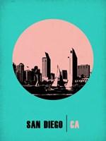 San Diego Circle 1 Fine Art Print