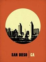 San Diego Circle 2 Fine Art Print