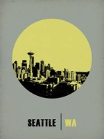 Seattle Circle 2 Fine Art Print