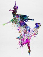 Ballet Watercolor 3B Fine Art Print