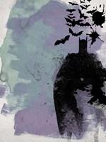 Batman Watercolor Fine Art Print