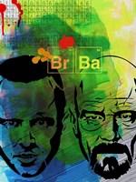 Br Ba Watercolor 2 Fine Art Print
