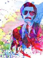 Anchorman Watercolor 2 Fine Art Print