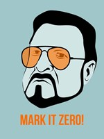 Mark it Zero 1 Fine Art Print