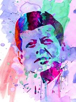 Kennedy Watercolor 2 Fine Art Print