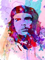 Che Guevara Watercolor 2 Fine Art Print