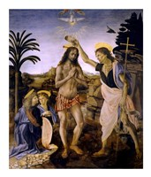 The Baptism of Christ Fine Art Print