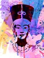 Nefertiti Watercolor Fine Art Print