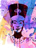 Nefertiti Watercolor Fine Art Print