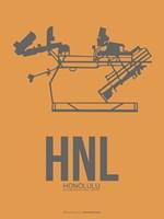 HNL Honolulu Airport 2 Fine Art Print