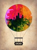 Chicago Air Balloon Fine Art Print