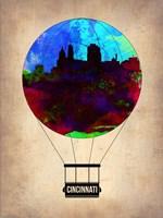 Cincinnati  Air Balloon Fine Art Print