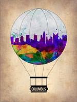 Columbus Air Balloon Fine Art Print
