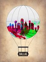 Dallas Air Balloon Fine Art Print