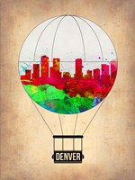 Denver  Air Balloon Fine Art Print