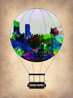 Grand Rapids Air Balloon Fine Art Print