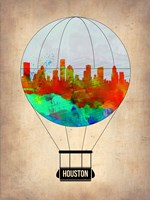 Houston Air Balloon Fine Art Print