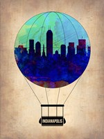 Indianapolis Air Balloon Fine Art Print