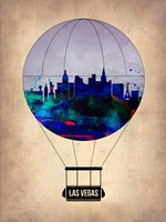 Las Vegas Air Balloon Fine Art Print
