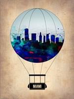 Miami Air Balloon Fine Art Print