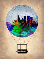 Minneapolis Air Balloon Fine Art Print