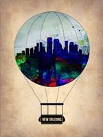 New Orleans Air Balloon Fine Art Print