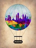 Philadelphia Air Balloon Fine Art Print