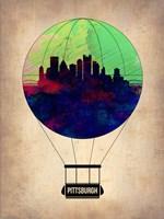 Pittsburgh Air Balloon Fine Art Print