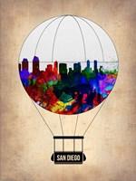 San Diego Air Balloon Fine Art Print