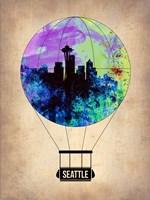Seattle Air Balloon Fine Art Print