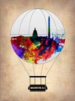 Washington, D.C. Air Balloon Fine Art Print