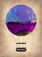 Amsterdam Air Balloon Fine Art Print