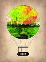 Berlin Air Balloon Fine Art Print