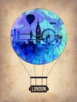 London Air Balloon Fine Art Print