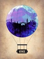 Venice Air Balloon Fine Art Print