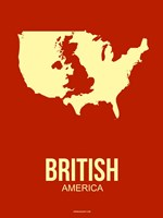 British America 2 Fine Art Print