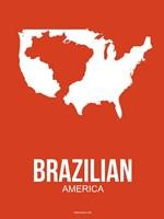 Brazilian America 1 Fine Art Print