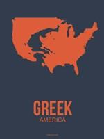 Greek America 3 Fine Art Print