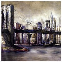 City Landmark II Fine Art Print