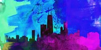 Chicago City Skyline Fine Art Print