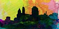 Cincinnati City Skyline Fine Art Print
