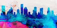Houston City Skyline Fine Art Print