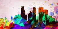 Minneapolis City Skyline Fine Art Print