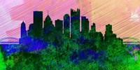 Pittsburgh City Skyline Fine Art Print