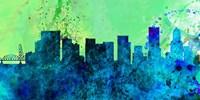 Portland City Skyline Fine Art Print