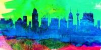 San Antonio City Skyline Fine Art Print