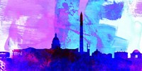 Washington DC City Skyline Fine Art Print