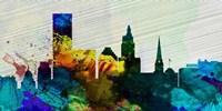 Providence City Skyline Fine Art Print